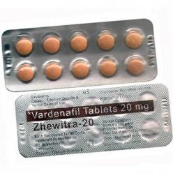 Варденафил Zhewitra 20 мг