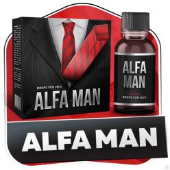 Alfa Man - капли для потенции